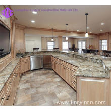High end popular kitchen cabinet with bar design