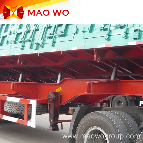 Hydraulic Cylinder Side 60 Ton Dump Trailer