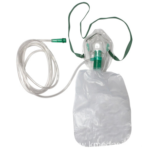 medical PVC non-rebreathing oxygen mask