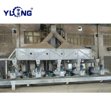 Rice Husk Pellet Making Line in Hubei