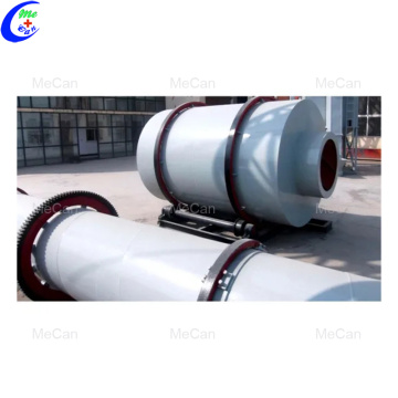 Silicon sand rotary drum dryer