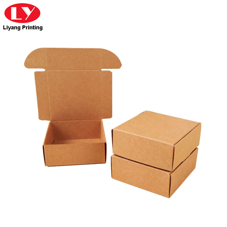 Kraft Paper Foldable Soap Box