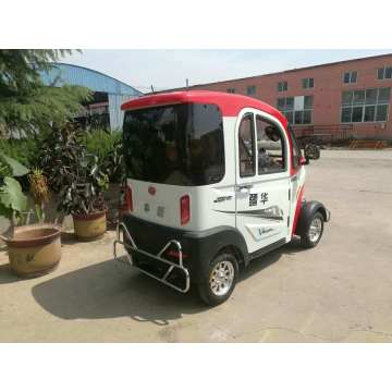 Low-speed electric vehicle with safety protection
