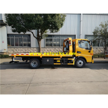 4ton JAC Flatbed Car Towing Vehicles