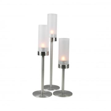 stainless steel candle holder 3pcs