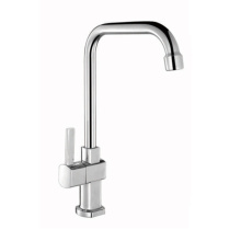 Wall mounted double handle Kitchen sink mixer tap