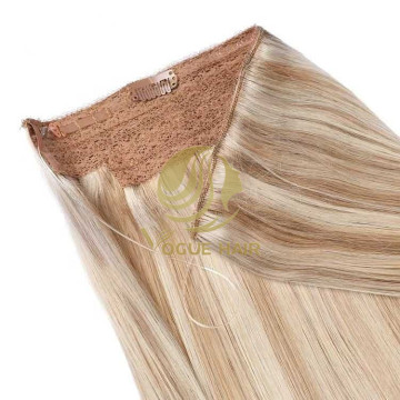 Beauty #18/22 remy cuticle halo hair extensions