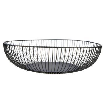 Nordic Creative Minimalist Fruit Basket Living Room Creative Fruit Drain Basket Home Iron Fruit Bowl Storage Basket