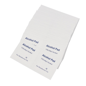 Individual Alcohol Pads Antiseptic Disinfectant Wet Wipes