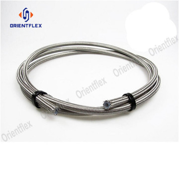 PTFE hose stainless  steel wire braided r14