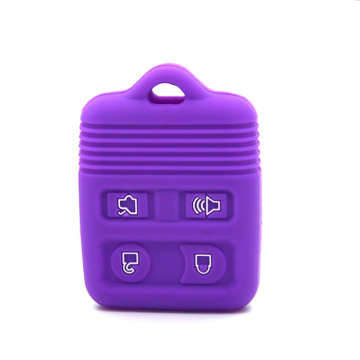Ford silicone car key covers with 4 buttons
