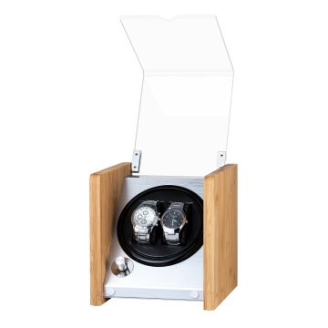 Bamboo Single Rotor Watch Winder