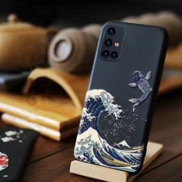 3D Case For Samsung Galaxy A51 A71 A21S A31 A41 A50 A70 S21 Ultra S20 FE S10 S10E A 51 71 Note 20 Ultra 10 Plus Lite Cases Cover