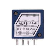 Potentiometer RH2702 8 Pin Serrated Split Shaft 6MM Precision 27-type A100K 100K WXTC