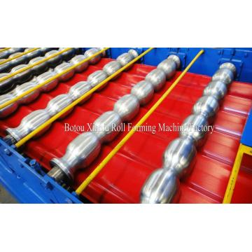 Roof Profile Double Panel Roll Forming Machine