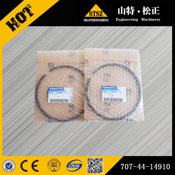 Komatsu engine parts PC200-8 piston ring 6754-31-2010