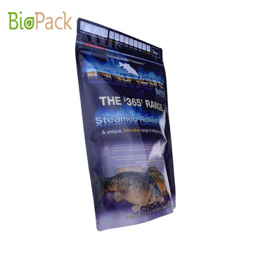 Compostable Side Gusset Top Pet Food Packaging Bag 5~10kg in PLA Material