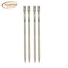 Ultra Light Titanium Alloy Tent Building Awning Pegs