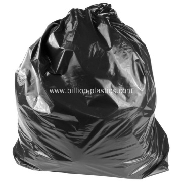 Black Bulk Garbage Grocery Big Bin Bags