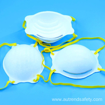 Fast delivery head mounted cup shape particular respirator mask