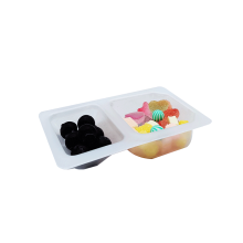 PP Souffle Portion Container Sauce Plastic Blister Tray