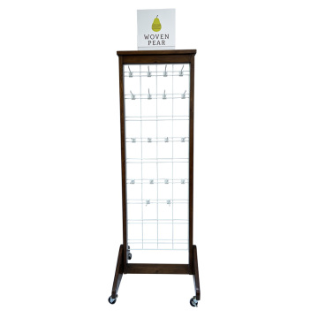 APEX Customized Cap Metal Pegboard Display Stand