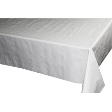 Solid Embossed Fabric Tablecloth Pool