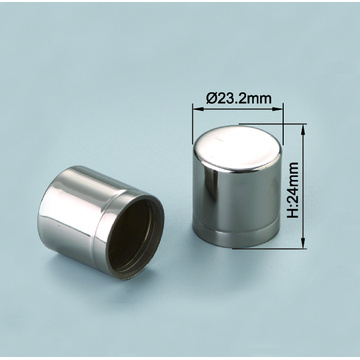 Mist sprayer aluminium caps for perfume glass bottles