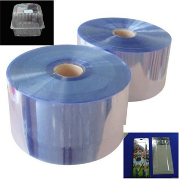 Rigid Pvc Transparent Sheet Plastic Material Film Roll