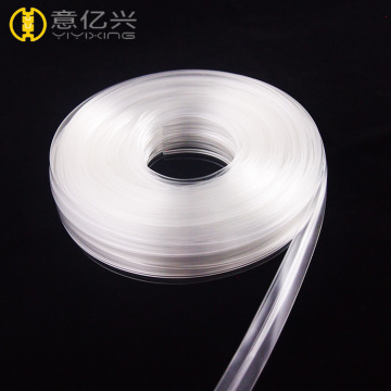 ShenZhen clear pvc zipper for bag