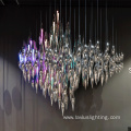 Professional customized  luxury crystal chandelier light