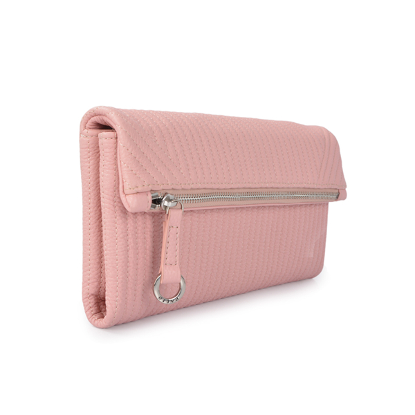 Smooth Pouch leather clutch bag women