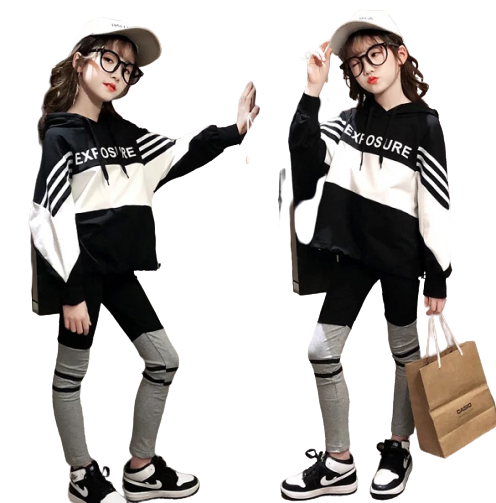 Fashion Leisure Long-sleeved Cotton Suit