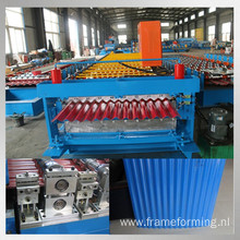 steel corrugated roof panel roll forming machine