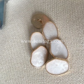 Alloy buttons with Pearl