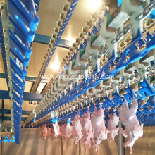 Poultry abattoir slaughtering equipment