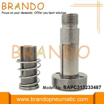 13.2mm OD Thread Seat Stainless Steel Solenoid Armature