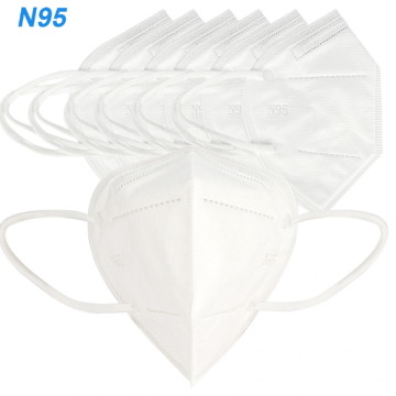 Folding Dust Poof KN95 Face Mask