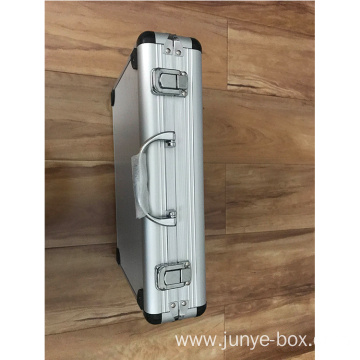 Aluminum Storage Case with Cut-out Foam Insert