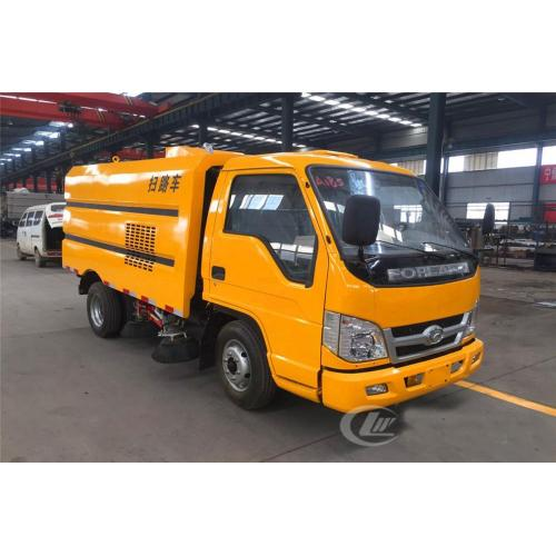 HOT FOTON 2.5cbm yellow street sweeper truck