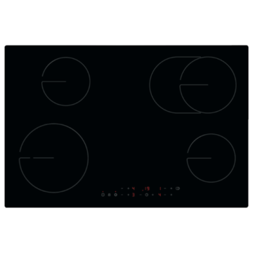 Zanussi Electric Induction Hobs Black Color