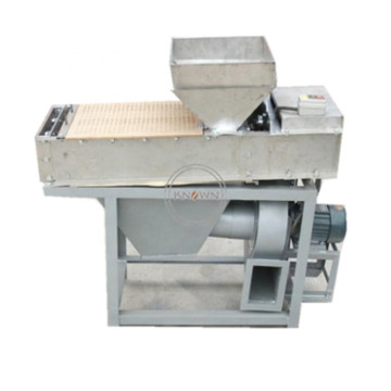 200-300kg/h Dry Soybean Skin Removing automatic Chickpea Almond dry Peeler Peanut Peeling Machine