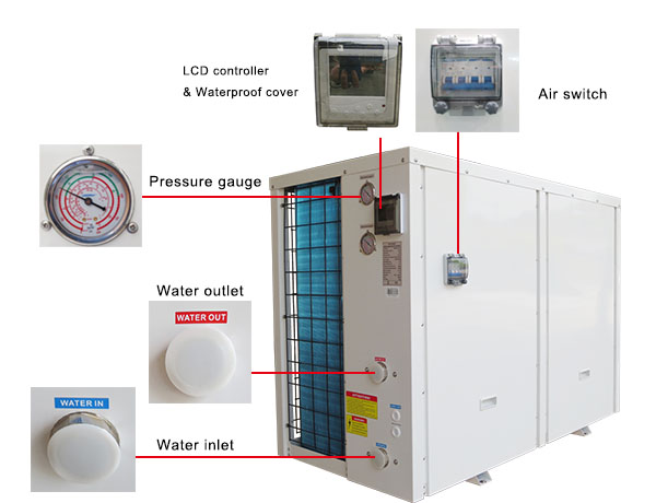 Air Source Water Heat Pump