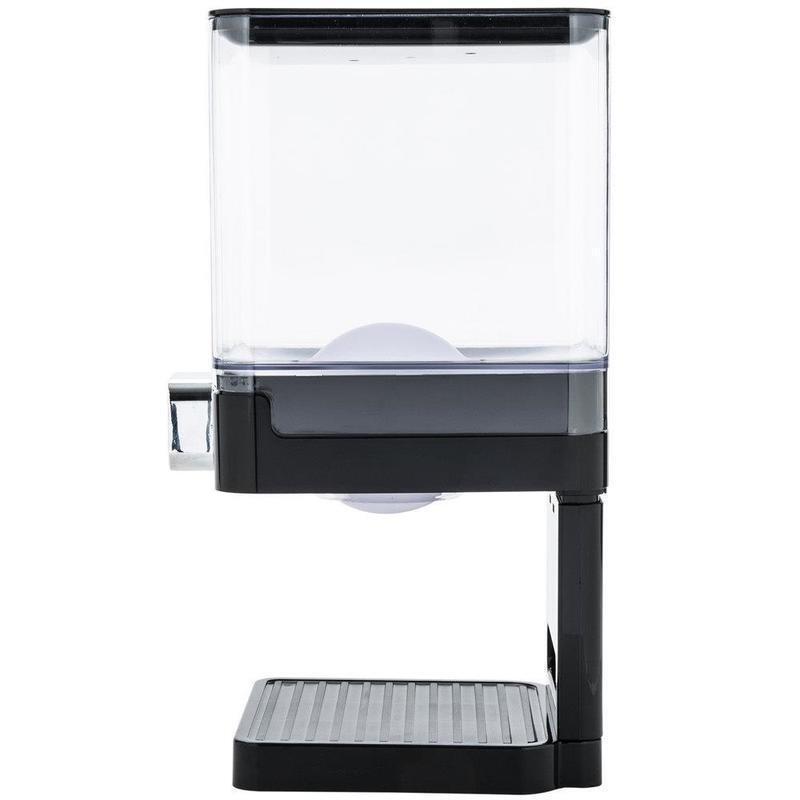 Single/double Barrel Cereal Machine Grain Dispenser Oat Storage Tank Self-service Food Multi-grain Container ZM106