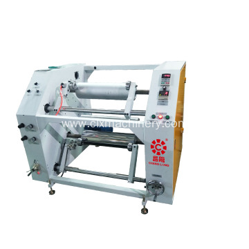 Ang LLDPE Stretch Film Slitting Rewinding Machine