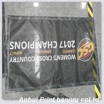 Roadside hanging waterproof Mesh banner