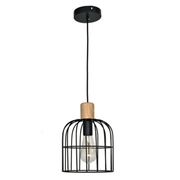 New  vintage black outdoor pendant