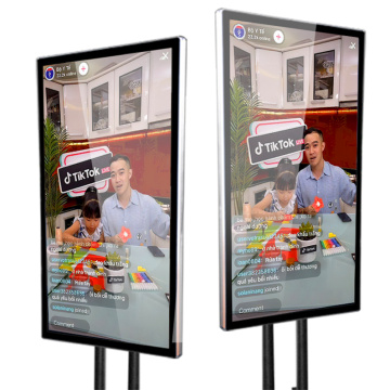 "75"" lcd infrared touch screen for live broadcast"