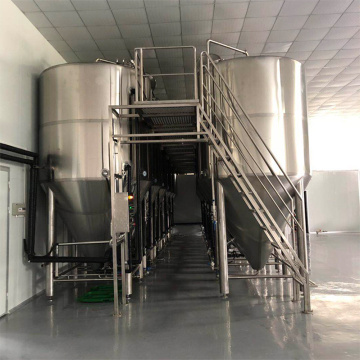 Beer Equipment with Brewery Sanitary Processing System