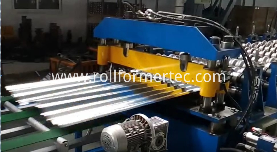 High speed roofing sheet rollformer 3